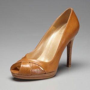 Stuart Weitzman Shyava Tan Camel Pumps Heels shoes